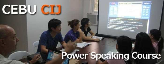 Khóa học Power Speaking tai CIJ - Cebu
